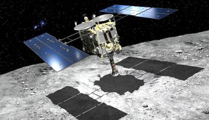 'Dumpling' space rock comes into view