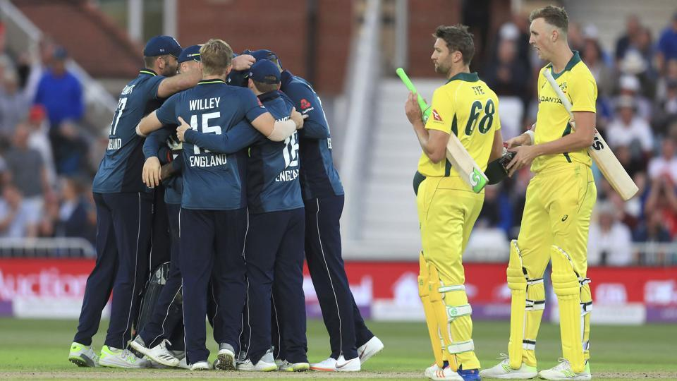 England win series, break records with thumping 242-run win against Australia