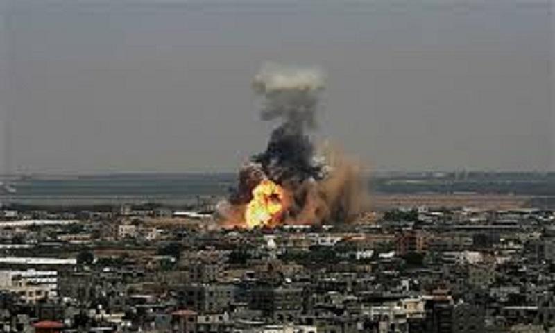 Israel strikes Hamas after heavy rocket attacks from Gaza