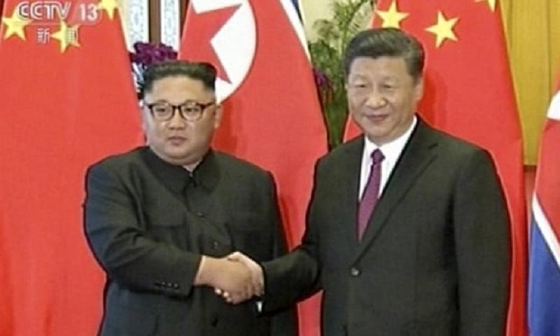 Kim Jong-un meets Xi Jinping for third time