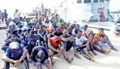 Five migrants die, 100 rescued in Libyan coast