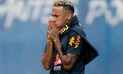 Neymar back training ahead of Costa Rica game