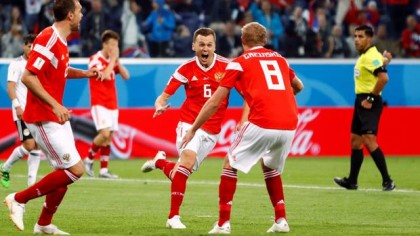 Russia want more after closing in on last 16