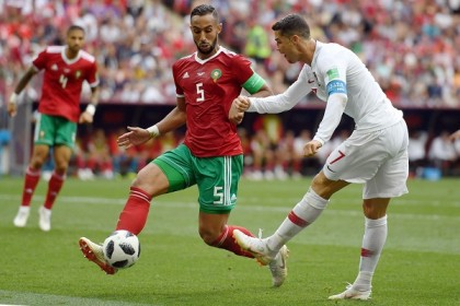 Ronaldo delivers again as Portugal down Morocco