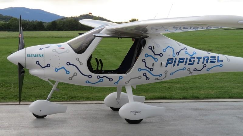 Futuristic electric plane cruises skies over Norway
