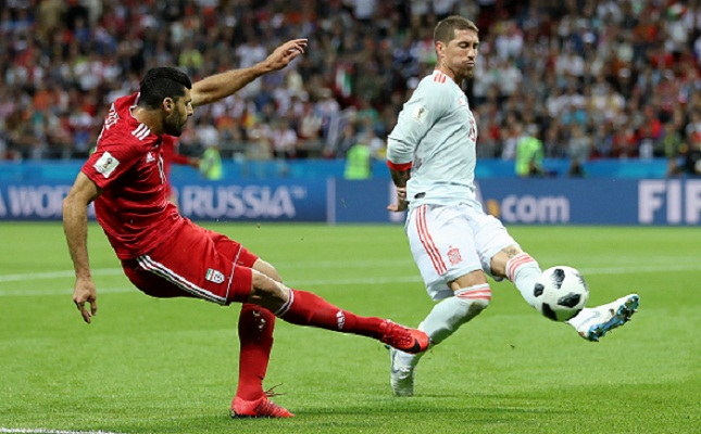 Spain beat Iran 1-0 to close in on World Cup last 16