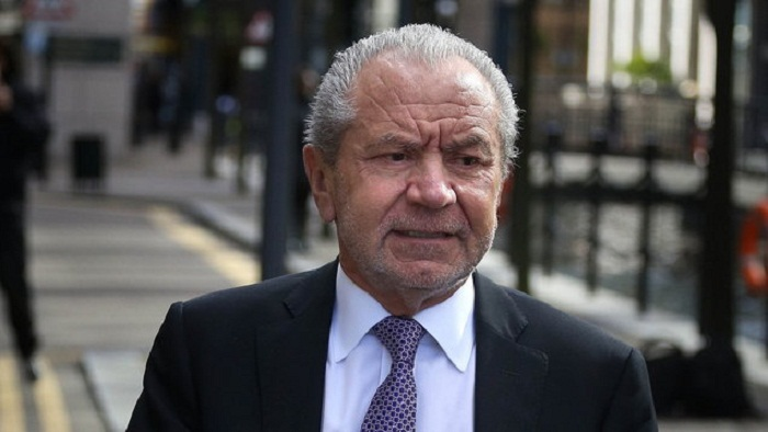 Lord Sugar criticised for 'unpleasant' tweet on Senegal team