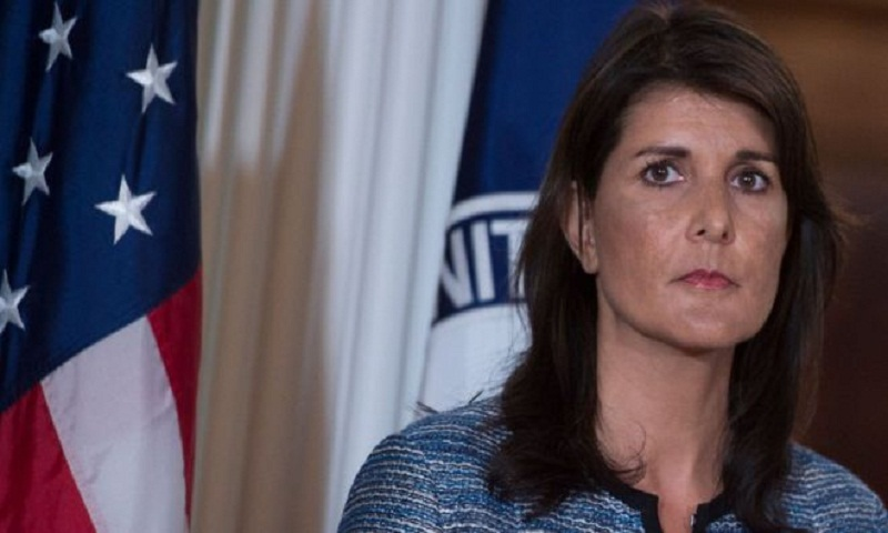 US envoy Nikki Haley berates human rights groups