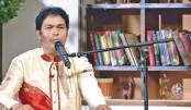 Bangladeshi folk singer Biman Chandra Biswas