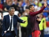 'Ronaldo is like a good port wine, he knows how to age best' - Portugal boss Fernando Santos