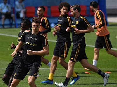 Belgium face Tunisia at World Cup with eye on England