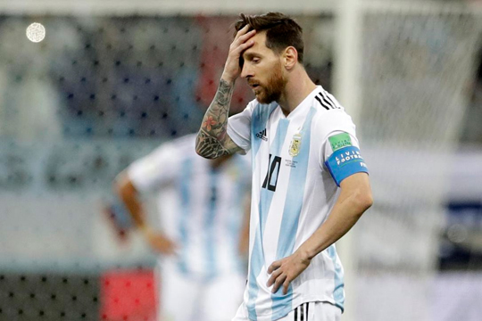 Argentinian public downhearted after team's 3-0 loss to Croatia