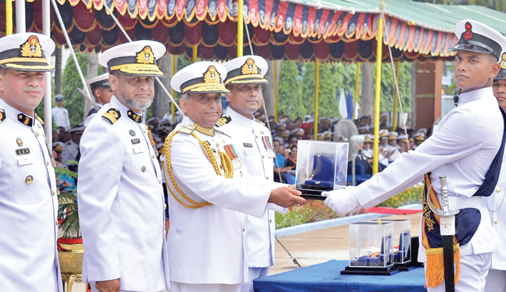 Passing out parade of navy held in Khulna