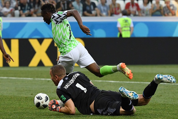 Musa's double downs Iceland as Nigeria come alive