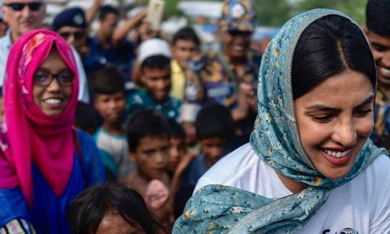 Priyanka Chopra shares Rohingya refugees' stories on World Refugee Day