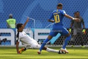 Brazil scores late goals to beat Costa Rica 2-0 at World Cup