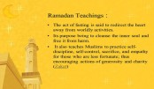 Teaching of Ramadan