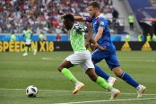 Nigeria beat Iceland to lift Argentina hopes of reaching second round