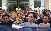 Suu Kyi says outside hate narratives driving Myanmar tension
