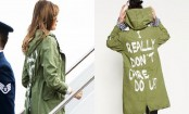 Melania wears 'I really don't care do u?' coat on migrant visit