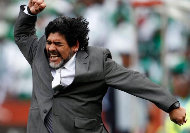 Argentina never ever had a 'no-fighting spirit': Maradona