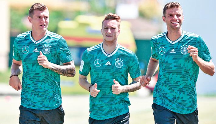 Germany expect turnaround tonight