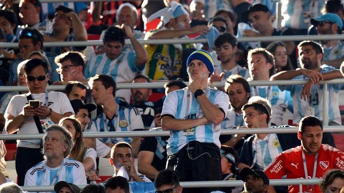 Argentina fans shocked but still dreaming of World Cup glory
