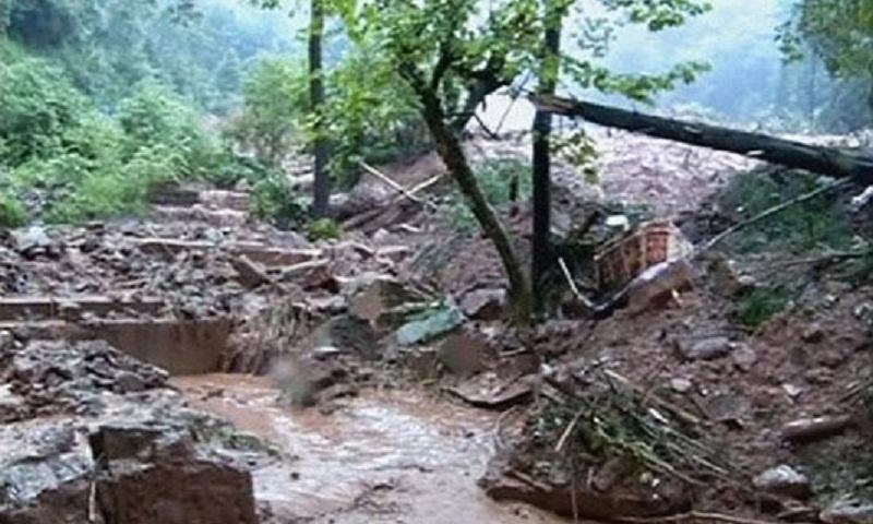 6 killed in landslide in Myanmar's northernmost state