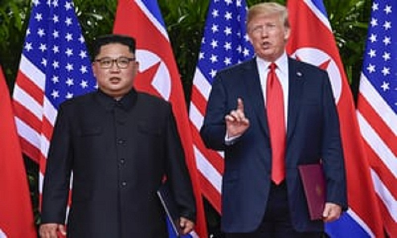 Trump says North Korea still 'extraordinary threat'