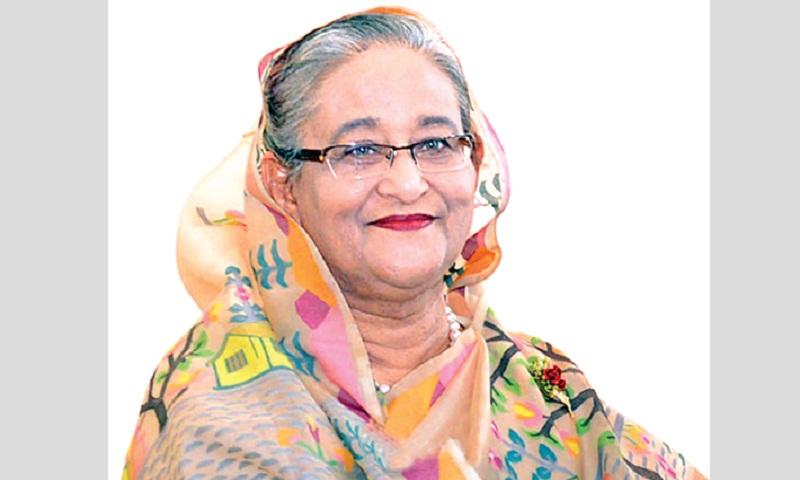 PM Hasina opens new AL central office