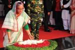 Awami League Anniversary: PM Sheikh Hasina pays homage to Bangabandhu