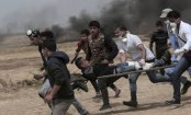 Gaza officials: 20 Palestinians wounded at Israeli border