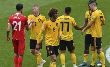 Lukaku, Hazard power Belgium to brink of World Cup last 16