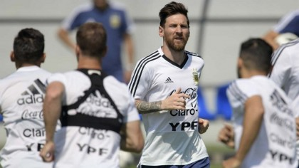 Messi on a mission as Argentina train with renewed hope