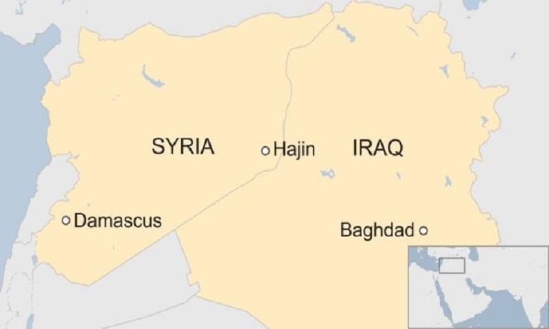 Iraq 'kills 45 IS leaders' in Syria