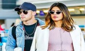 Priyanka Chopra and Nick Jonas avoid the paparazzi as they sneak into Mumbai city