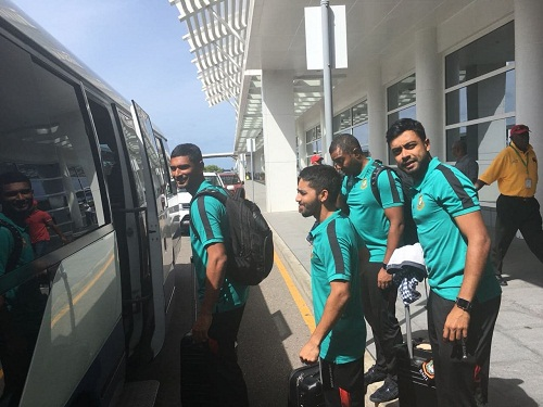 Tigers reach Antigua, to play two-day match from Tuesday