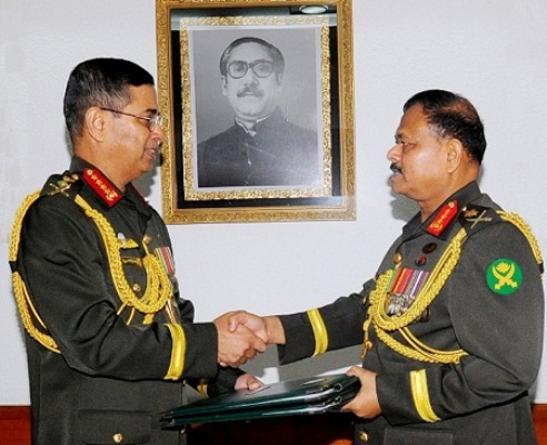 Lt Gen Aziz Ahmed takes over as Army chief