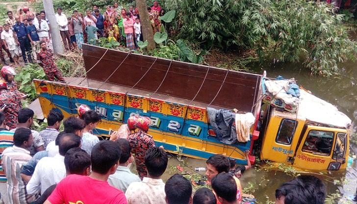 5 killed in Tangail road crash