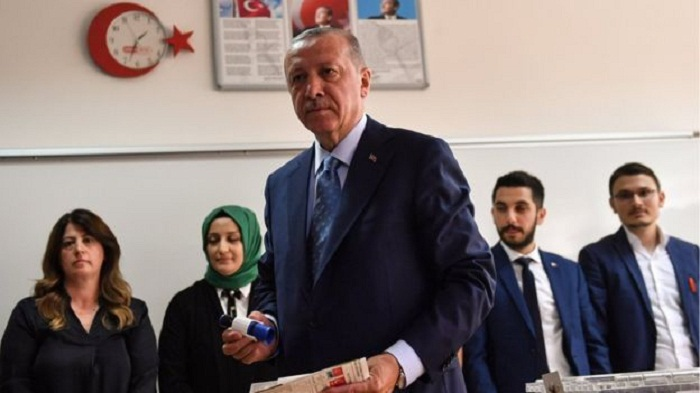 Erdogan claims Turkey election victory
