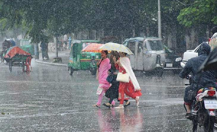 Heavy rainfall likely over country