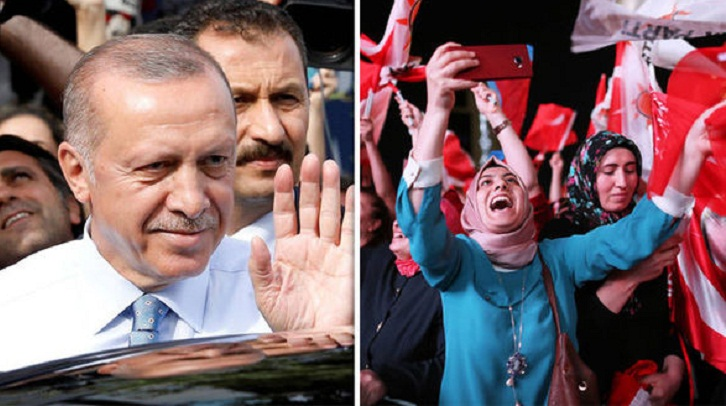 World reaction to Erdogan's election victory