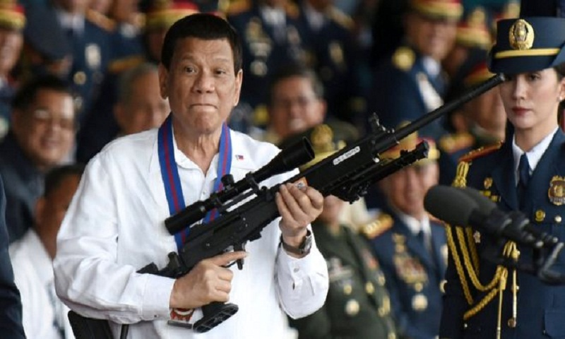 Philippines' Duterte calls God 'stupid'