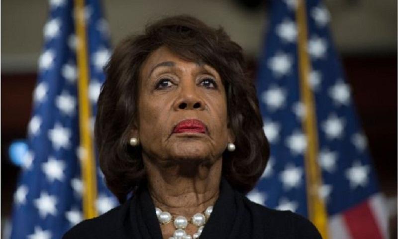 Trump to Democratic congresswoman Maxine Waters: 'Be careful'