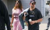 Priyanka Chopra lands in Mumbai with Nick Jonas