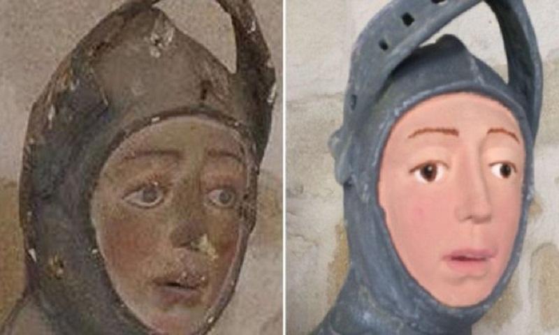 Spanish church slammed over 'frightening' sculpture restoration