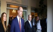 Prince William meets young Israelis in coastal Tel Aviv