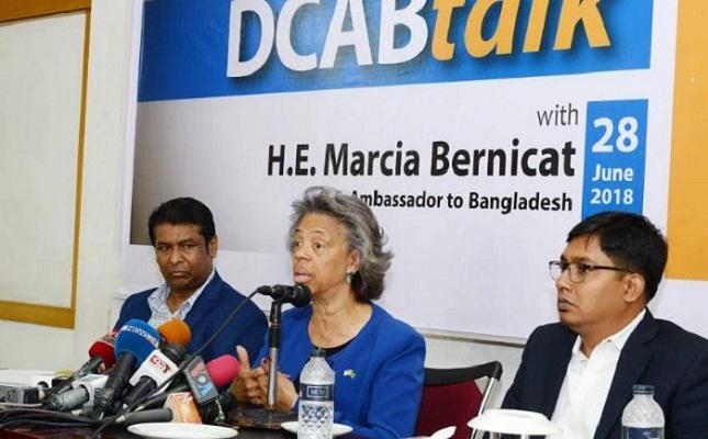 US want Bangladesh to diversify its export base