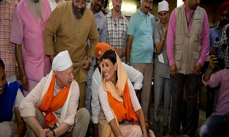 US envoy Nikki Haley goes on inter-faith journey in India