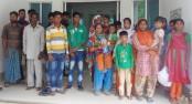 19 Bangladeshis held from Kurigram border
